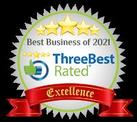 Three Best Rate badge